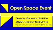 Open Space - Bristol - 10 March