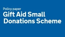 Gift Aid Small Donations Scheme