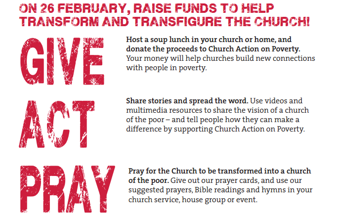 Church Action on Poverty Sunday - Latest News
