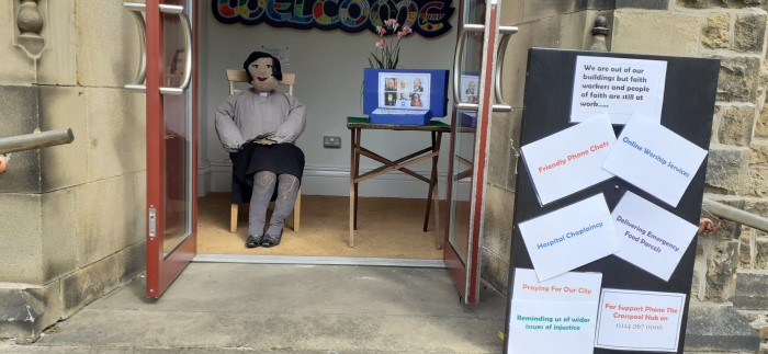 Pastor Best - Tapton Hill's Scarecrow